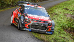 CITROEN WRC 2018 RALLY CORCEGA