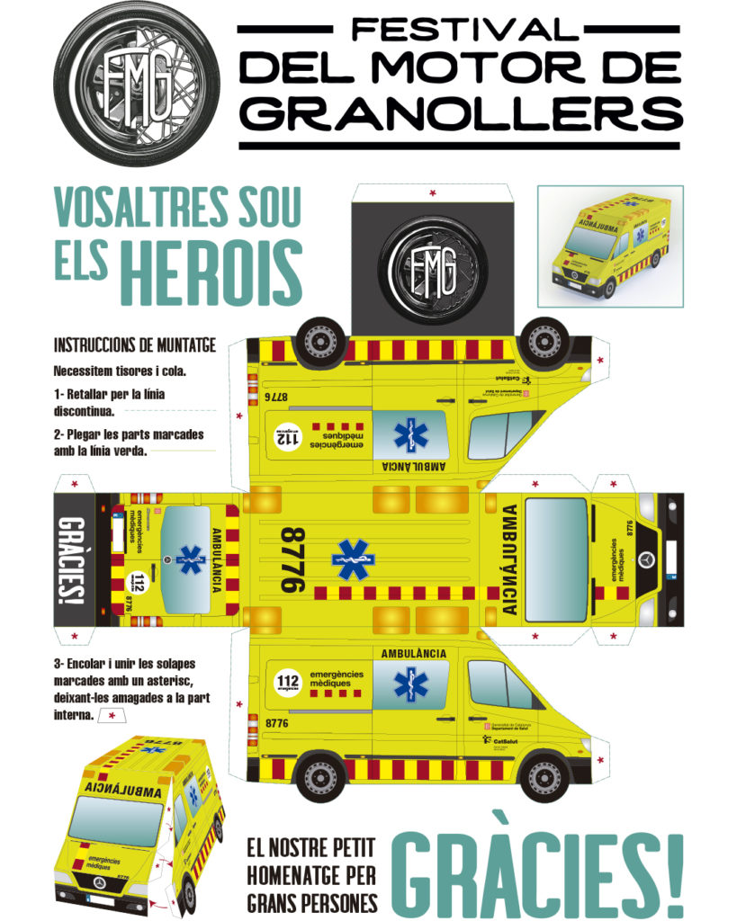 Ambulancia 3D FMG